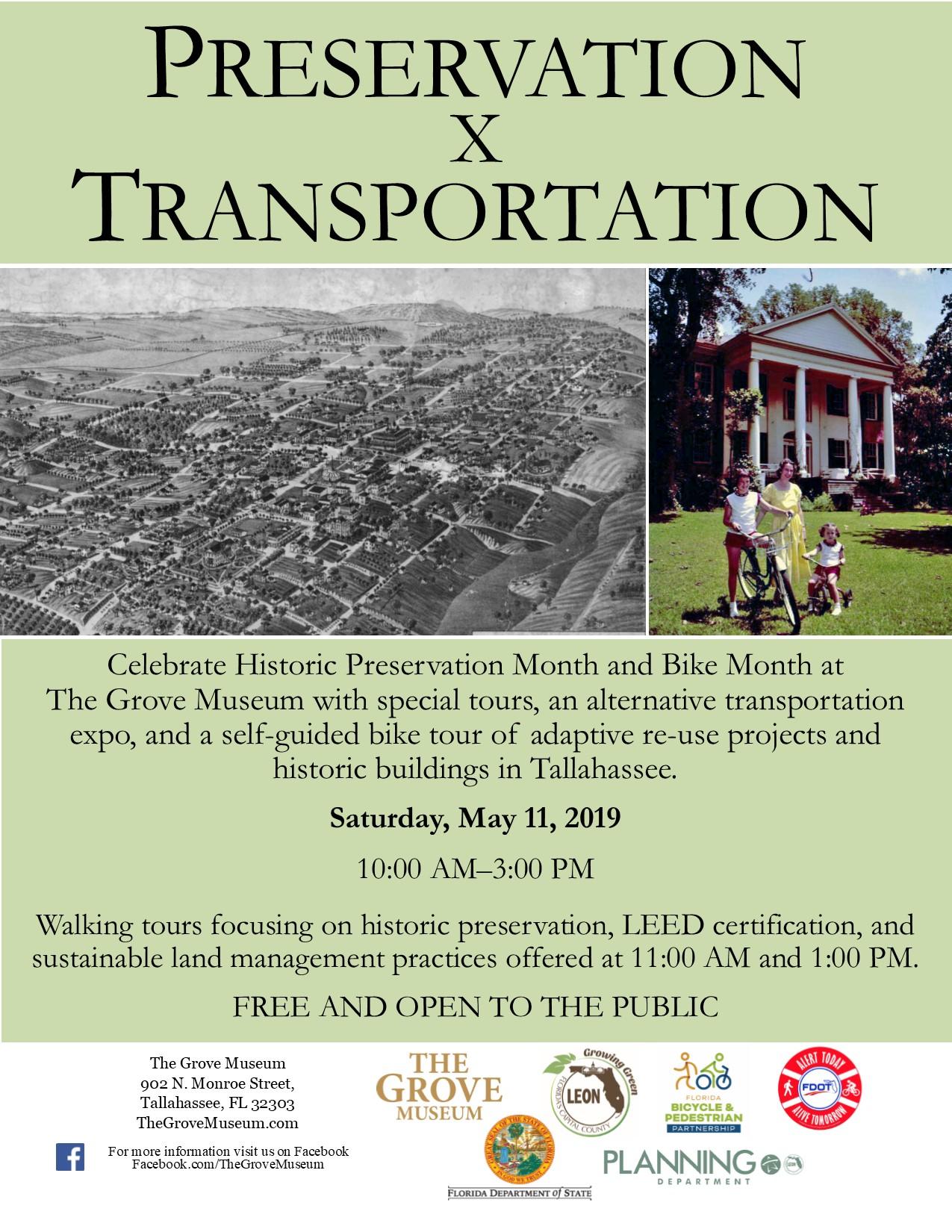 Preservation X Transportation | Grove